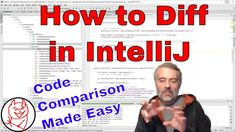 How to Diff Java Code in IntelliJ - 3 ways to use the Compare Tool https://youtu.be/xTOSuKzmFcE