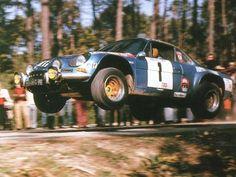 Rally de Portugal 1973 , 2º - #1 Jean-Pierre Nicolas - RENAULT ALPINE A110 1800,