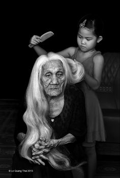 """Vietnam by Le Quang Thai """"To care for those who once cared for us is one of the highest honors."""":"""