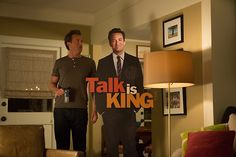 """""""Why are you taller than me?"""" #GoOn #RyanKing #MatthewPerry"""