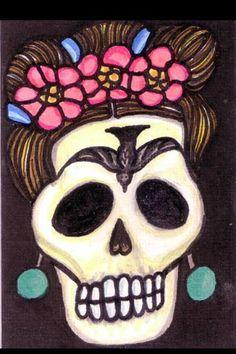 Dia de los Muertos    Frida Kahlo    Day of the dead
