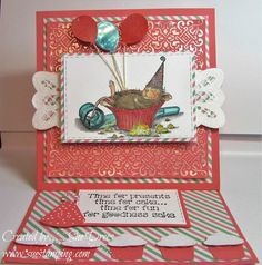 Cupcake Coma by NEEDMORESPACE - Cards and Paper Crafts at Splitcoaststampers
