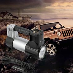 2019 New CATUO 12V Digital Portable Air Compressor With LED Digital Tire Inflator 150Psi 30L/min Easy to Operate Convenient Portable Air Compressor, Monster Trucks, Led, Digital, Easy
