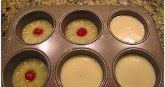 Ingredients  Cake Ingredients:   2 eggs  2/3 cup white sugar  4 Tbsp pineapple juice  2/3 cup all purpose flour  1 tsp baking powder  1/4 ...