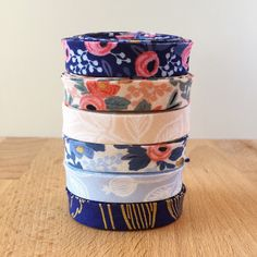 These Cotton + Steel Rifle Paper Co Les Fleurs fabrics are just as gorgeous as I imagined they'd be!