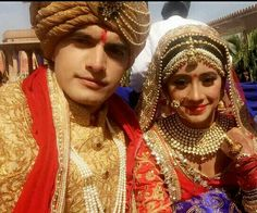 Finally hare is a #exclusive look of our #bride and @groom....❤❤❤❤❤❤❤❤❤❤❤❤❤ @khan_mohsinkhan @shivangijoshi18