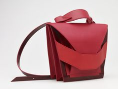 Layered Red Bag