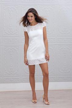 Cómo elegir vestido blanco para boda civil - El Cómo de las Cosas