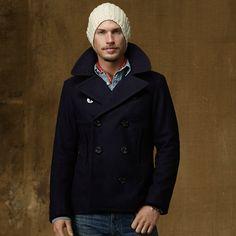 ☆POLO RALPH LAUREN DENIM & SUPPLY/Wool Pea Coat