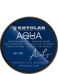 Aquacolor 55 ml Black