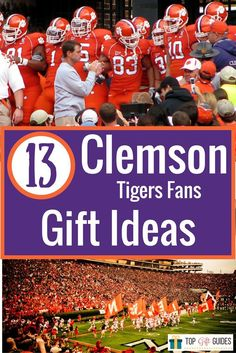 98 Best Clemson Tiger Football Gift Ideas Images In 2020 Clemson