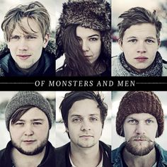 Of Monsters and Men. love. love. love. (hahhaa this looks like a christmas card. but i still love it :)