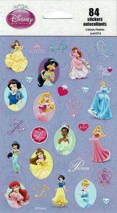 Belle /& Tiana Disney Princess Mini Memo Pads 4 ct Cinderella Sleeping Beauty