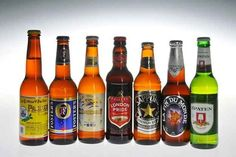 Buy an array of international beers to serve at your party