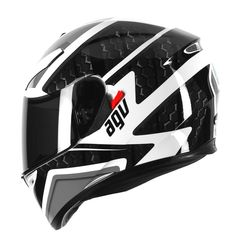 AGV SV Pulse White Black Motorcycle Full Face Sports Touring Helmets Size S for sale online Motorcycle Helmets, Bicycle Helmet, Bike, Motor Parts, Full Face, Touring, Sports, Ebay, Black