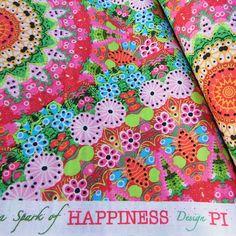 Www.asparkofhappiness.nl Design Pi, beautiful poplin fabric