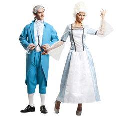 Déguisements Monsieur et Madame Versailles #déguisementscouples #nouveauté2016