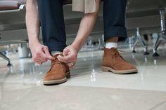 Как восстановить внешний вид замшевых туфель 0