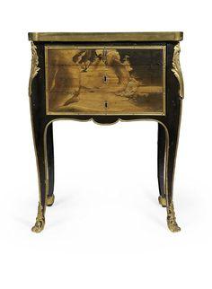 Writing Table by Mark Joseph Baumhauer. Louis XV, circa 1765-1770