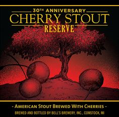 Bell's - 30th Anniversary Cherry Stout Reserve    http://www.beer-pedia.com/index.php/news/19-global/5494-bell-s-30th-anniversary-cherry-stout-reserve    #beerpedia #bellsbrewery #stout #beerblog #beernews #newrelease #newlabel #craftbeer #μπύρα #beer #bier #biere #birra #cerveza #pivo #alus