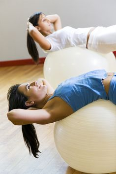 health club: woman doing stretching and aerobics Amazing! See This! http://all4betterlife.com
