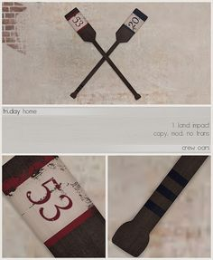 fri.day home - crew oars ad (mens dept) by Darling Monday, via Flickr