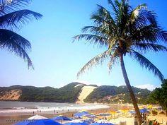 Praia de Ponta Negra e Morro do Careca - Natal RN.