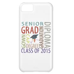 Class of 2015 Graduation iPhone 5C Cover