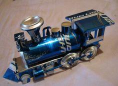 Top 10 Veículos em miniatura feitos de latas recicladas