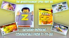 1980s Saturday Morning Commercials Advertisement Opus 36 11-19-88 https://youtu.be/-QdYVCxsjq8
