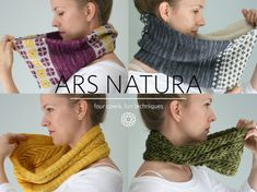This collection contains FOUR PDF KNITTING PATTERNS, which provide full instructions for how to create your own Anthos, Cruces, Frons, and Keras Cowls. The cowls are available for individual purchase, but are much discounted when you purchase them as a set!  YARN REQUIRED Anzula Luxury Fibers Cricket (80% Superwash Merino, 10% Nylon, 10% Cashmere; 250 yds/ 229 m per 114g); for all 4 cowls you will need 2 skeins in Daffodil, 1 in Gravity, 1 in Olivia, 1 in Prudence, 1 in Au Natural, and 1...