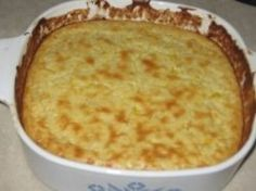Corn casserole is a rich creamy savory dish (also known as cornbread casserole.) Add this to compliment your main course meal for the holidays or anytime. This easy recipe is much like a pudding filled with corn, sour cream, eggs, butter, cheddar. Ham Casserole, Casserole Recipes, Cornbread Casserole, Casserole Dishes, Christmas Dinner Menu, Christmas Dishes, Clean Recipes, Cooking Recipes, Yummy Recipes