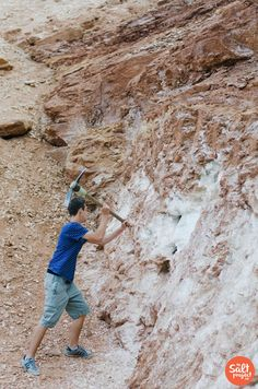 Glitter Mountain *Updated with new map! | St. George | Roadtrippin' | The Salt Project | Things to do in Utah with kids