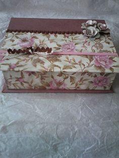 caja libro scrap