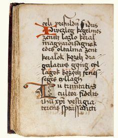 Peer-kódex, f. 154v, Szent László-ének