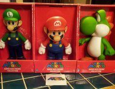 Super Mario Super Figures