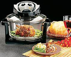 For people who do not have room for appliances, Deni introduces the Convection Oven. With this one appliance, you can roast, broil, grill, bake, and steam various foods. Cooks food in less time than a conventional oven thus saving you money on electricity. Hot air circulates around food, therefore food cooks and browns fast and evenly. This versatile appliance is one that you can use every day.