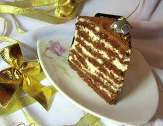 """Торт """"Шоколадная девочка с пломбирным кремом"""""""