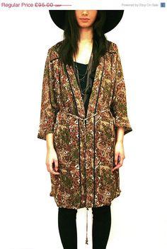 Silk beaded Kimono jacket
