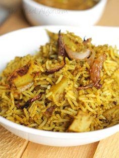 Enjoy this wonderful vegetarian hyderabadi dum biryani recipe from Preethi Vemu.
