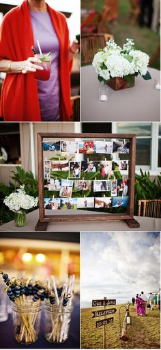 love this photo display!