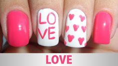 Unhas Decoradas - Love