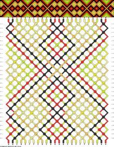 Muster # 92142, treicher: 24 Zeilen: 28 Farben: 6