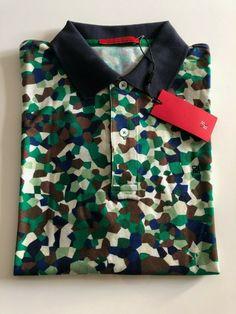 716516094a Mens Carolina Herrera Short Sleeved Polo Shirt - Slim Fit- Size XL #fashion  #clothing #shoes #accessories #mensclothing #shirts (ebay link)