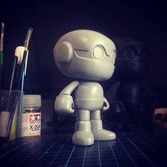 "SpankyStokes.com | Vinyl Toys, Art, Culture, & Everything Inbetween: Calling all Bulletpunks! Quiccs × Mighty Jaxx's ""Project SPUNK"" DIY fig..."