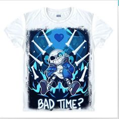 Tops & Tees Hottest Game Undertale Sans Cosplay Custome Interesting Cartoon Short Sleeve T-shirts O Neck T Shirts Tshirts To Help Digest Greasy Food