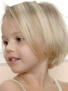 Kids Short Layered Bob Haircut