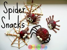 Spiders as Both Science and Snack? Follow this Tutorial for the Cutest of BOTH! {Sulia article with additional links}