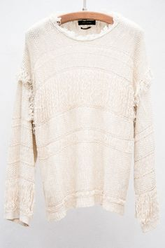 Beige Glimy Pullover by Isabel Marant $254 (originally $635) | shopheist.com