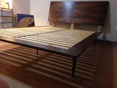 honey badger home - diy dwr modern bed for $300. | house + things